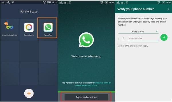 Come avere due WhatsApp su Windows Phone, iPhone e Android? 4