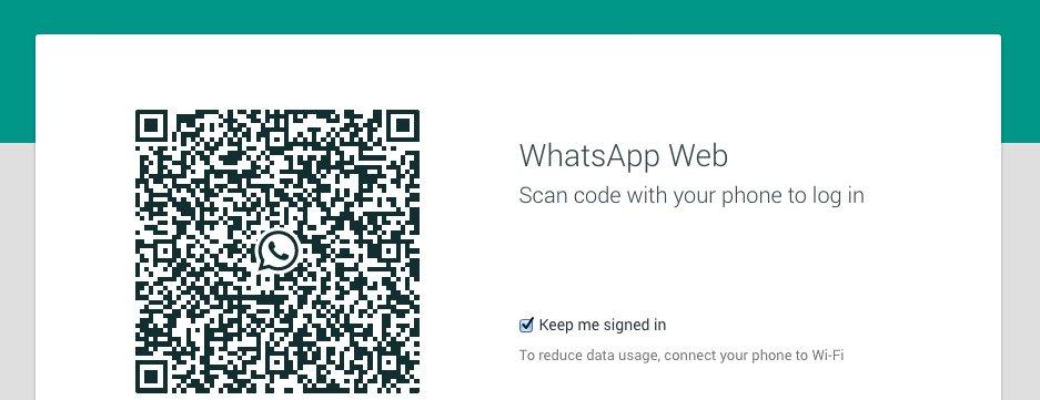 Come usare web whatsapp con codice qr 1