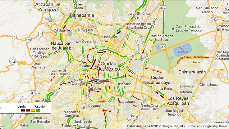 Come visualizzare il traffico su Google Maps 1