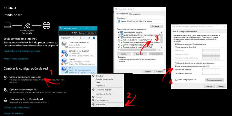 Come modificare e configurare DNS su qualsiasi sistema operativo? Guida passo passo 1