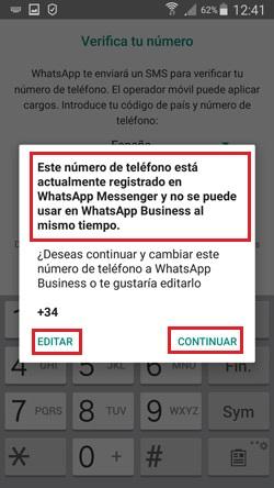Come creare un account WhatsApp Business? Guida passo passo 5