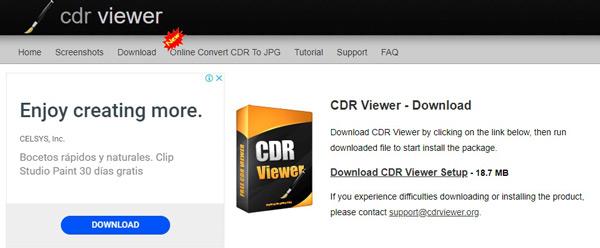 Estensione .CDR Cosa sono e come aprire questo tipo di file? 12