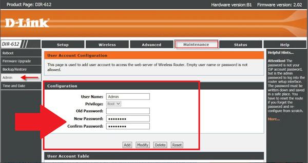 Come modificare l'utente e la password per accedere al pannello di configurazione del router WiFi? Guida passo passo 3