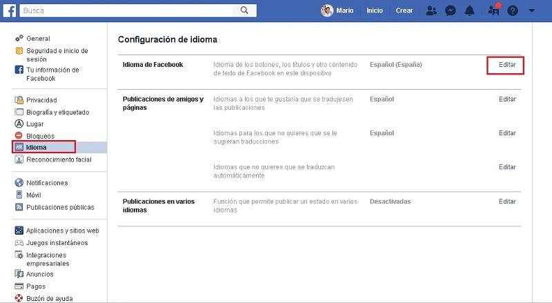 Come cambiare la lingua in Facebook Messenger? Guida passo passo 2