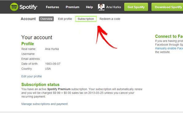 Come eliminare un account Spotify? Guida passo passo 9