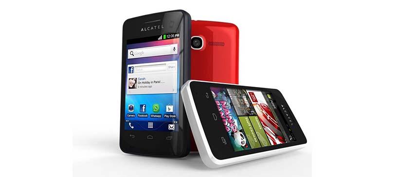 Come scattare una schermata su un Alcatel One Touch 4010a 1