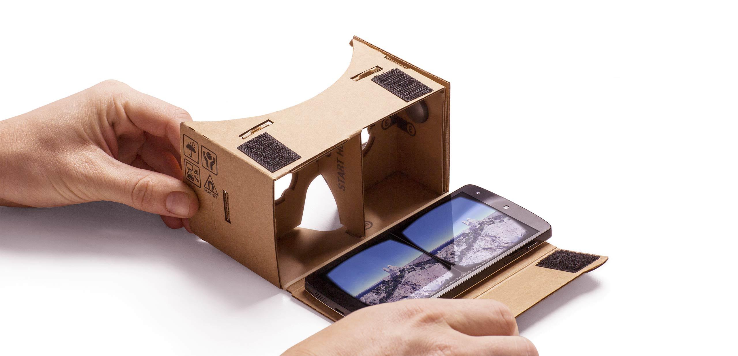 Prova la realtà virtuale sul tuo smartphone con Cardboard per Android 1