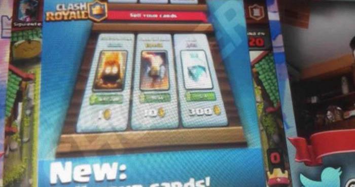 Come vendere carte e acquistare gemme con l'oro in Clash Royale? 1