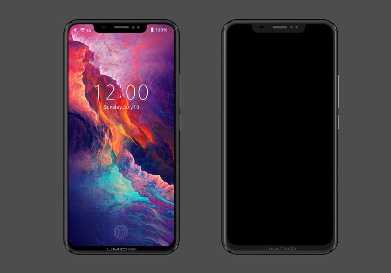 Clone di iPhone X con Android - Scopri il fondo UMIDIGI Z2 1