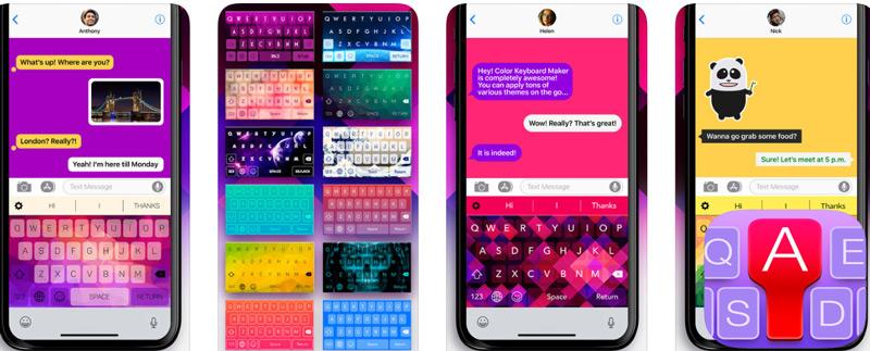 Quali sono le migliori app per tastiera per iPhone e iPad gratuitamente ea pagamento? Elenco 2019 13