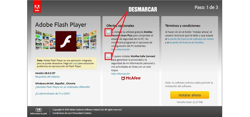 Come aggiornare Adobe Flash Player veloce e gratuito? Guida passo passo 1