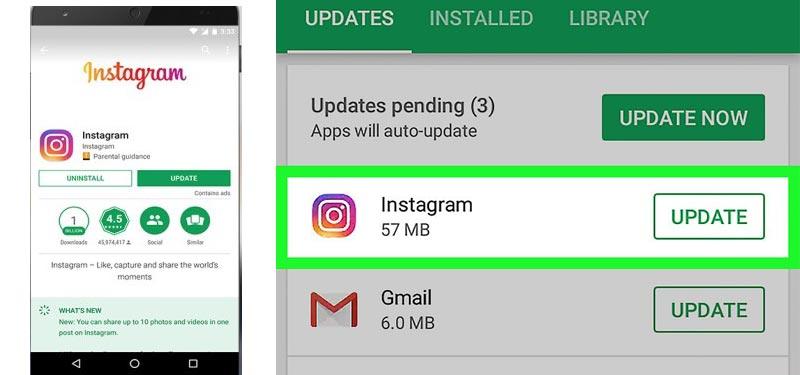 Come aggiornare Instagram gratuitamente all'ultima versione? Guida passo passo 2