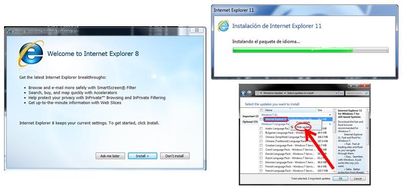 Come aggiornare il browser Microsoft Internet Explorer all'ultima versione? Guida passo passo 4