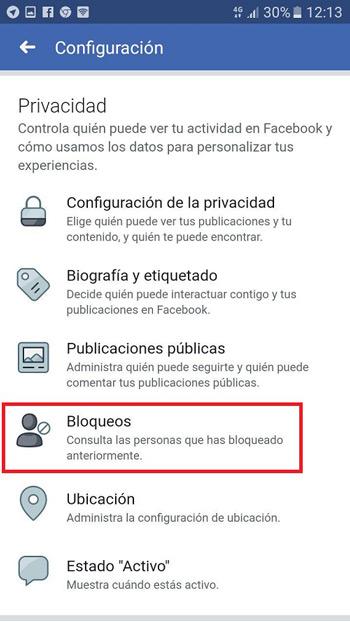 Come bloccare e sbloccare una persona o una pagina su Facebook? Guida passo passo 11