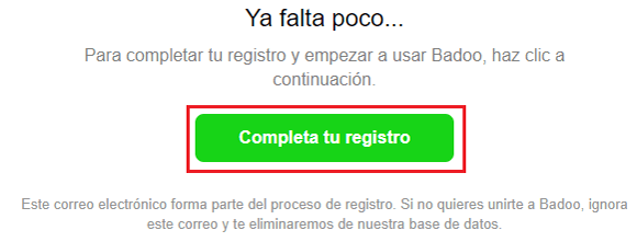 Come creare un account su Badoo gratuitamente in spagnolo facile e veloce? Guida passo passo 4