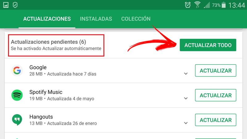 Come verificare la presenza di aggiornamenti in sospeso per installare le mie applicazioni? Guida passo passo 5