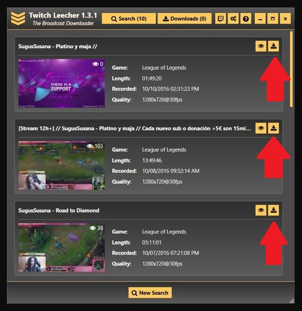 Come scaricare video da Twitch per guardarli in seguito senza una connessione Internet? Guida passo passo 2