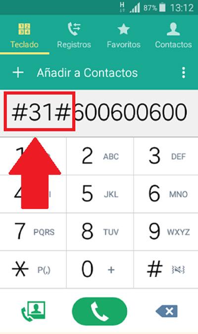 Come chiamare con un numero nascosto dal telefono? Guida passo passo 4