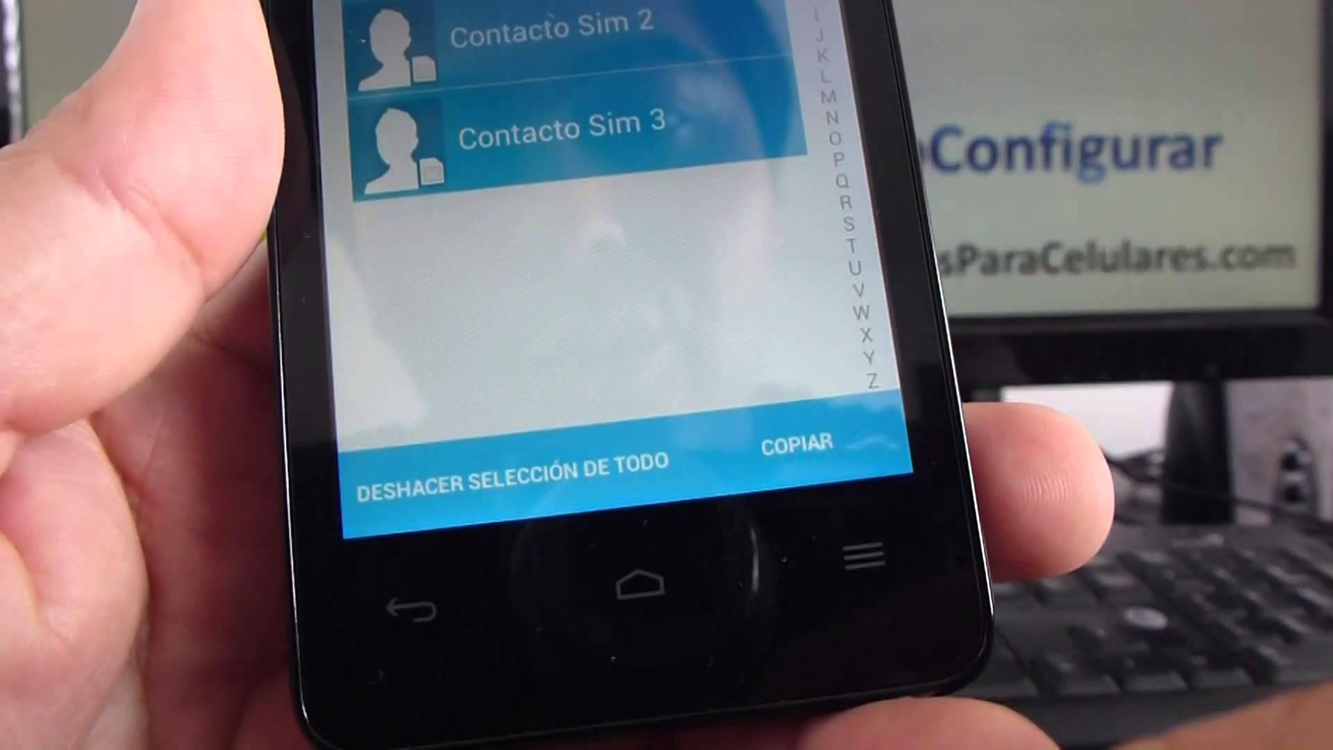Come trasferire i contatti dal cellulare alla carta SIM [e dalla carta SIM al cellulare] 3