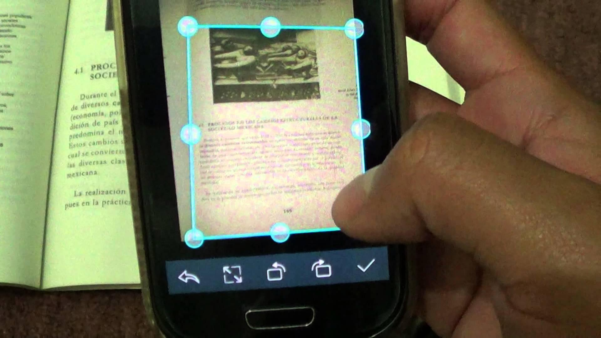Come convertire un'immagine in testo sul cellulare? 1