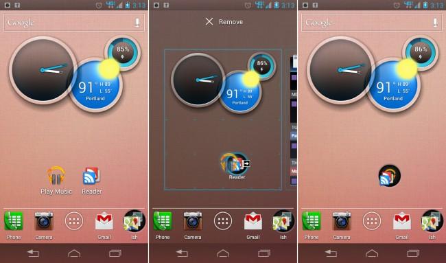 Come creare cartelle sul desktop Android 1