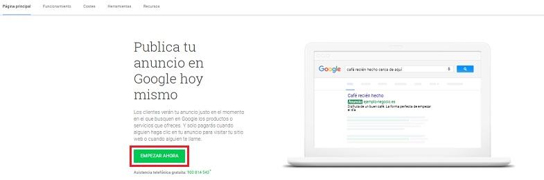Come fare pubblicità su Google Ads e far crescere la tua attività su Internet? Guida passo passo 3