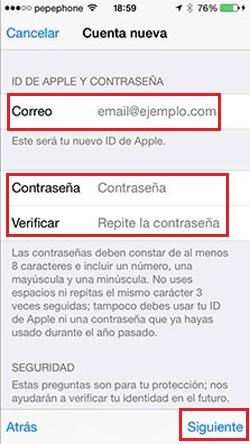 Come creare un account e-mail iCloud? Guida passo passo 3
