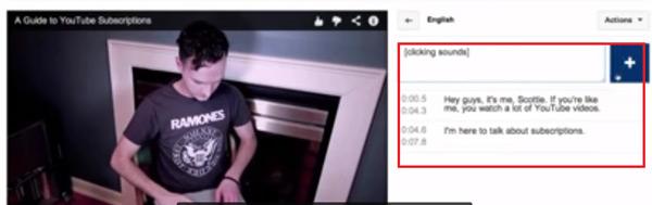 Come aggiungere e inserire i sottotitoli in un video di YouTube? Guida passo passo 3