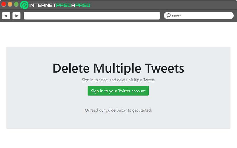 Come eliminare tutti i tweet in modo massiccio e automatico per cancellare il tuo profilo Twitter? Guida passo passo 7
