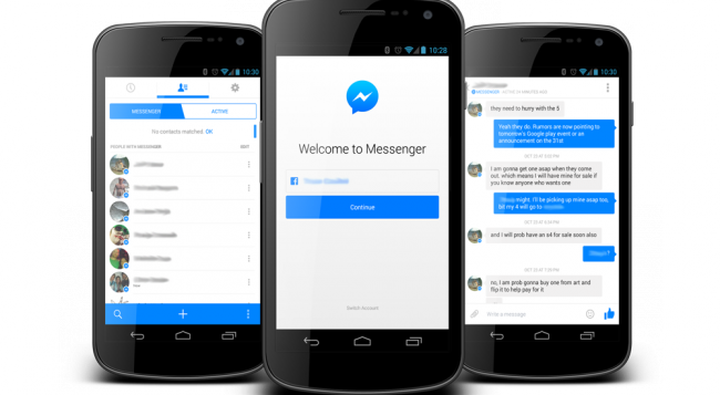 Installa Facebook Messenger per dispositivi mobili gratuitamente 2