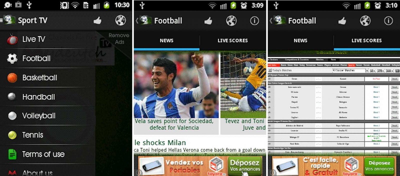 Scarica Sport TV per Android 1