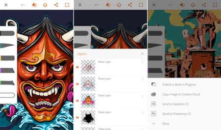 Scarica Adobe Illustrator Draw per Android. Crea splendide illustrazioni 1