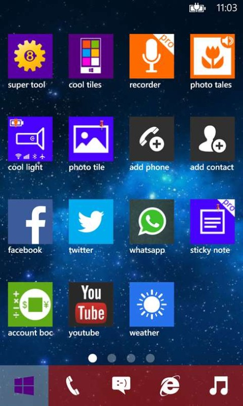 Scarica Cool Tiles per Windows Phone 4