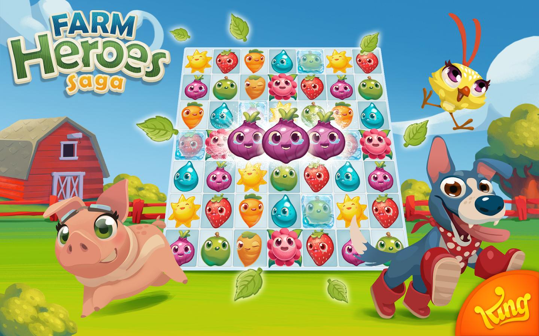 Come scaricare Farm Heroes Saga gratis per Android? 1