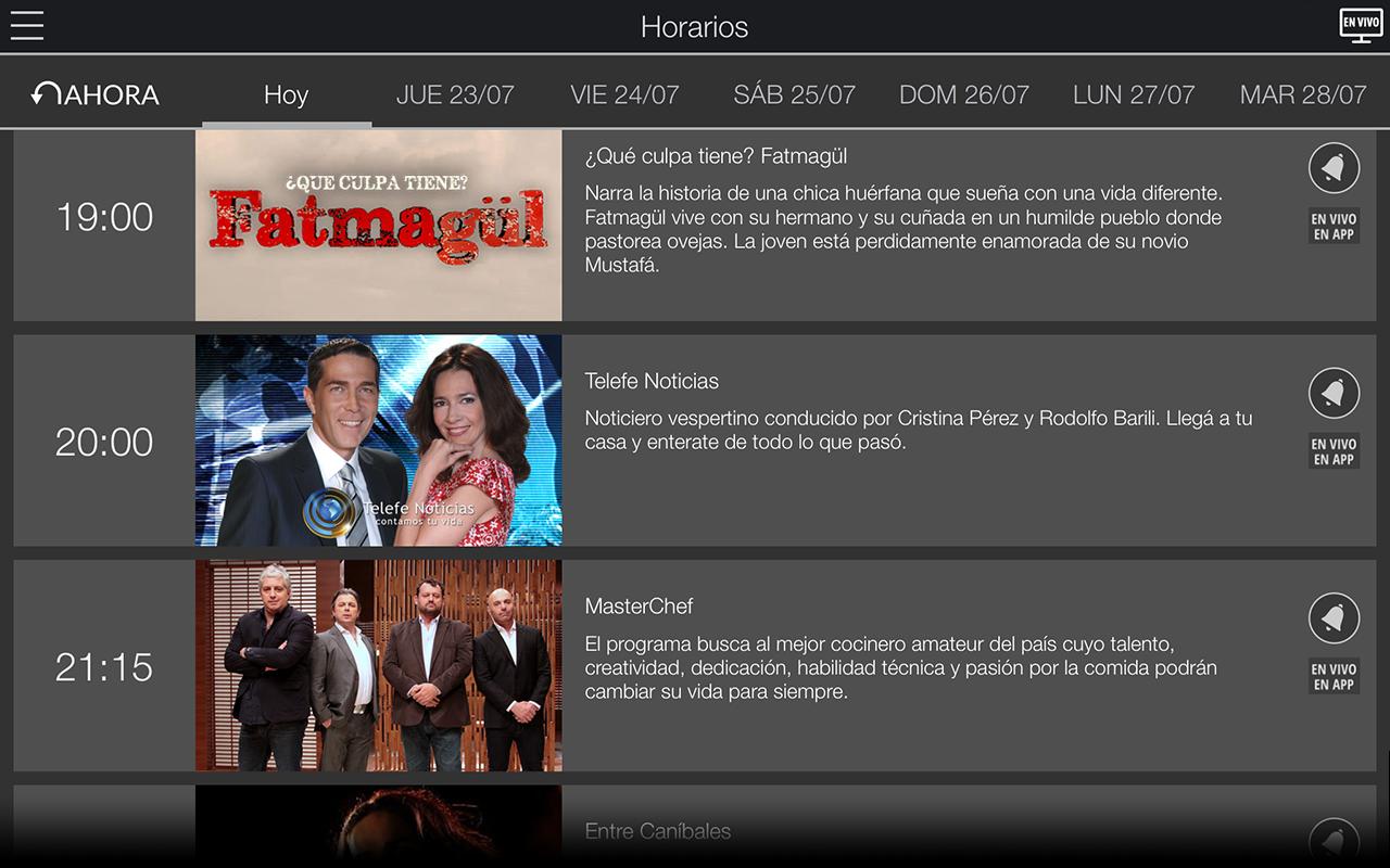 Scarica Mi Telefé per Tablet: La Telefé sul tuo iOS e Android 2