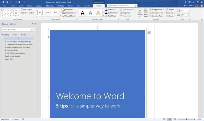 Scarica Microsoft Word 2016 facile e veloce 1