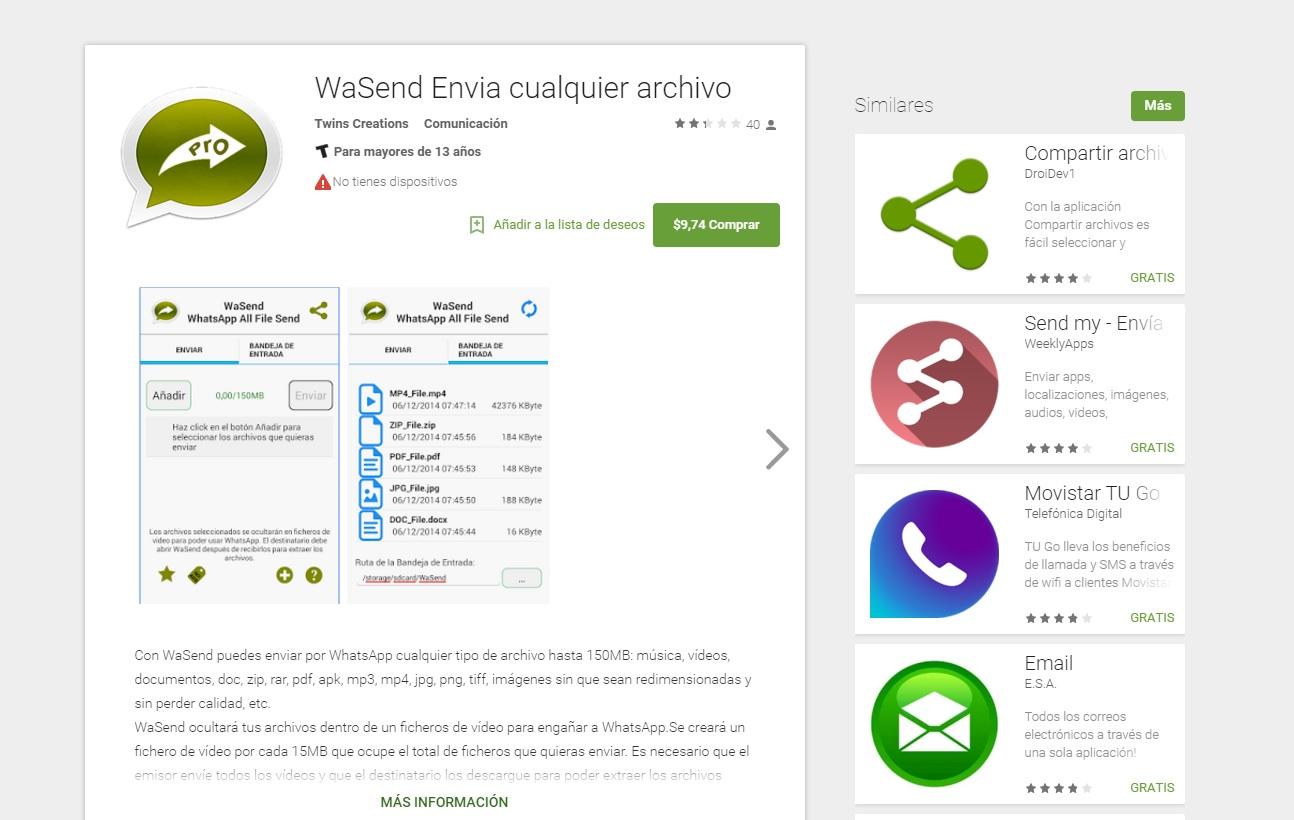 Come scaricare WaSend per dispositivi mobili con Windows Phone 1