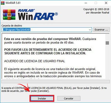 Come comprimere e decomprimere un file in formato RAR in modo che pesa di meno? Guida passo passo 5