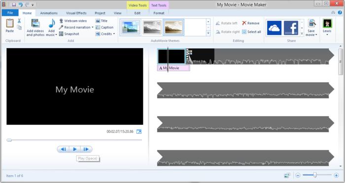 Scarica Windows Movie Maker per creare i tuoi video 1