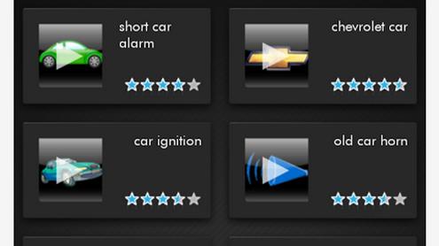 Scarica l'applicazione suoni auto 1