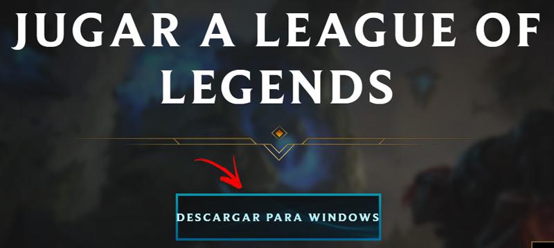 Come accedere gratuitamente a LOL League of Legends in spagnolo? Guida passo passo 1