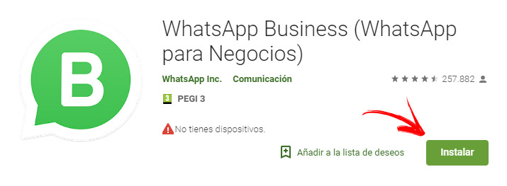 Come creare un account WhatsApp Business? Guida passo passo 1