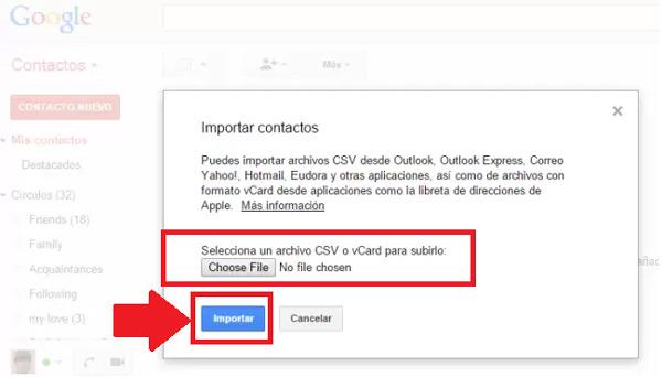Come passare tutti i contatti del tuo telefono iPhone a Gmail? Guida passo passo 3