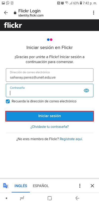 Come creare un account su Flickr per salvare e vendere foto e video online? Guida passo passo 5