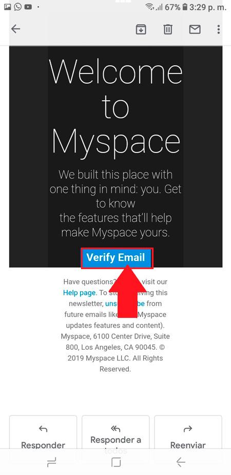 Come creare un account MySpace in spagnolo, facile e veloce? Guida passo passo 5