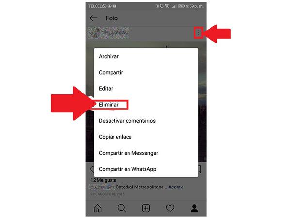 Come eliminare tutte le foto pubblicate nel tuo account Instagram in modo rapido e semplice? Guida passo passo 3