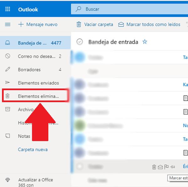 Come recuperare e-mail cancellate molto tempo fa nel tuo account Microsoft Outlook? Guida passo passo 1