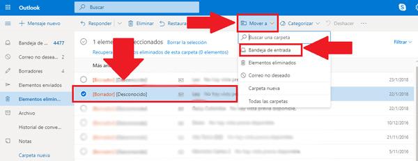 Come recuperare e-mail cancellate molto tempo fa nel tuo account Microsoft Outlook? Guida passo passo 2