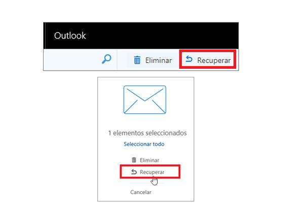 Come recuperare e-mail cancellate a lungo nel tuo account Hotmail? Guida passo passo 4