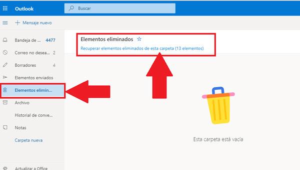 Come recuperare e-mail cancellate molto tempo fa nel tuo account Microsoft Outlook? Guida passo passo 3